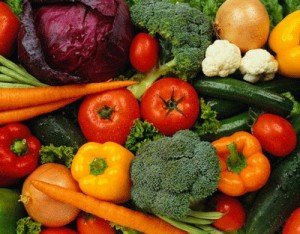 meat, fish, vegetables and fruit - the perfect human diet?