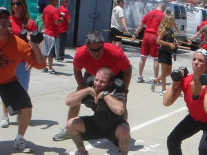 a crossfit workout