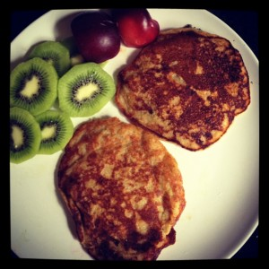 paleo pancakes made without nut flour or eggs