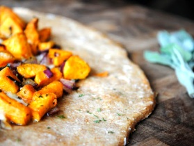 Sweet Potato Flat Bread - Paleo / Primal